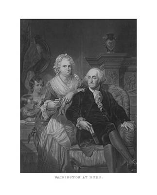 Washington At Home Poster