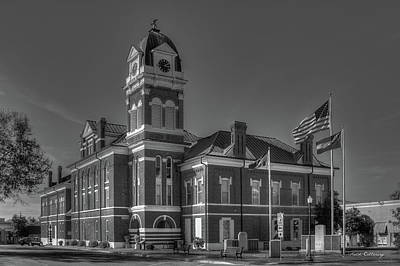 Washington County Courthouse 2 Art Poster by Reid Callaway
