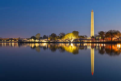 Washington Dc Dawn Monument Poster