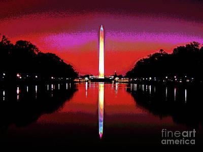 Washington Monument 4 Poster