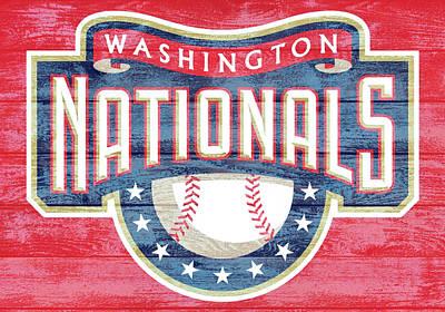 Washington Nationals Barn Door Poster
