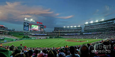 Washington Nationals In Our Nations Capitol Poster