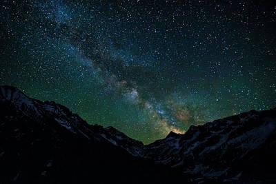 Washington Pass Overlook Milky Way Poster