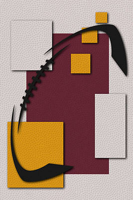 Washington Redskins Football Art Poster