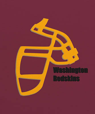 Washington Redskins Retro Poster