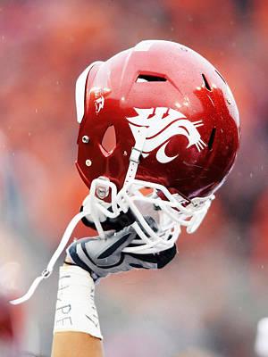 Washington State Helmet  Poster