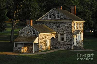 Washington's Headquarters At Valley Forge Poster by Cindy Manero