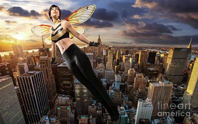Wasp Poster by Ian MacDonald