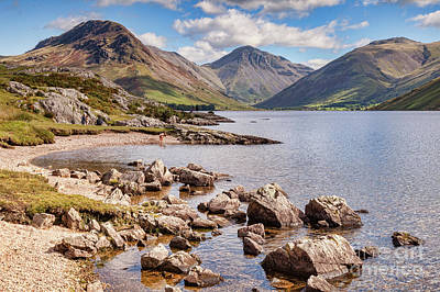 Poster featuring the photograph Wastwater  by Colin and Linda McKie