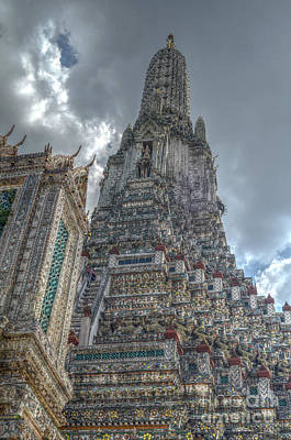 Wat Arun Poster by Michelle Meenawong