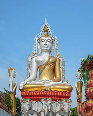 Wat Khunchan Merit Shrines Buddha Image Dthb1931 Poster