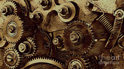Watch Machinery Poster