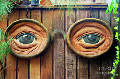 Watching You Poster by Mariola Bitner