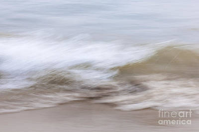 Water And Sand Abstract 2 Poster by Elena Elisseeva