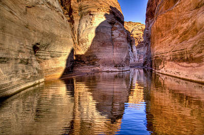 Water Canyon Poster by Jon Berghoff