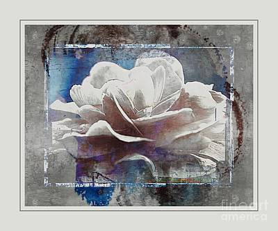 Water Color Peony Poster