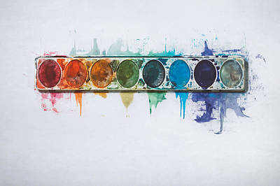 Water Colors Poster by Scott Norris