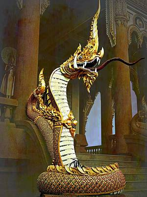Water Dragon-  Phaya Naga Poster