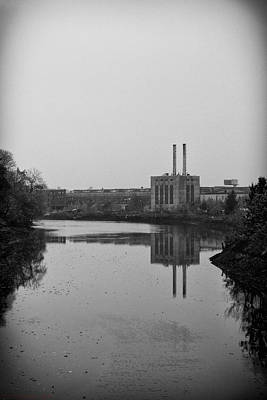 Poster featuring the photograph Water Factory by Lora Lee Chapman