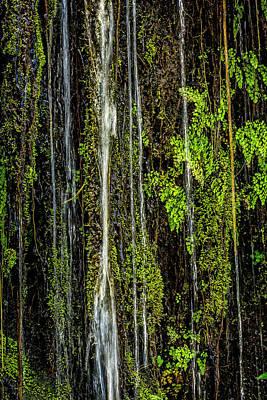 Water Falling Poster