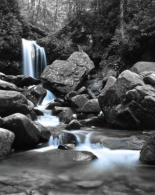 Water Flows Free Poster by Frozen in Time Fine Art Photography