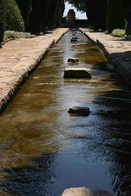 Water In The Balchik Garden Poster
