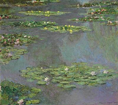 Water Lilies 1905 Poster