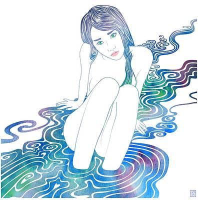 Water Nymph Lxxxvi Poster