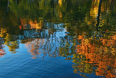 Water Reflections 12 Poster by Allen Beatty