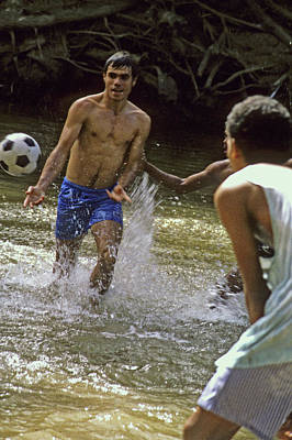 Water Soccer Poster