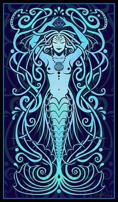 Water Spirit Poster by Cristina McAllister