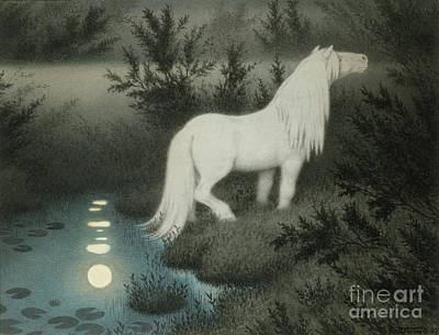 Water Sprite Poster by Theodor Kittelsen