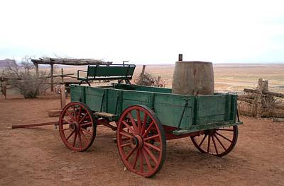 Poster featuring the photograph Water Wagon by Fred Wilson