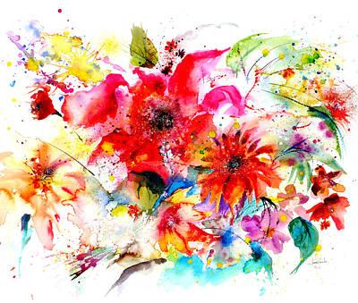 Watercolor Garden II Poster by Isabel Salvador