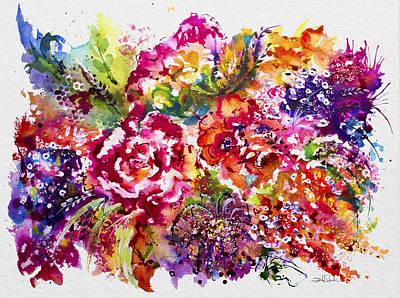 Watercolor Garden IIi Poster by Isabel Salvador