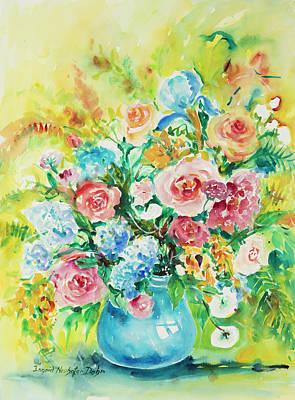 Watercolor Series 120 Poster