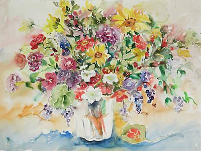 Watercolor Series 33 Poster