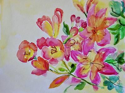 Watercolor Series No. 225 Poster