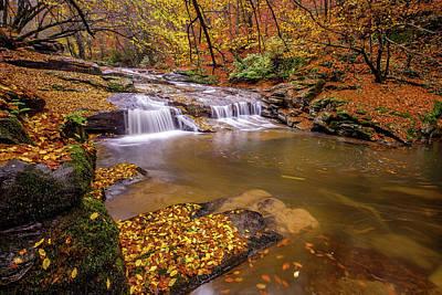Waterfall-6 Poster by Okan YILMAZ