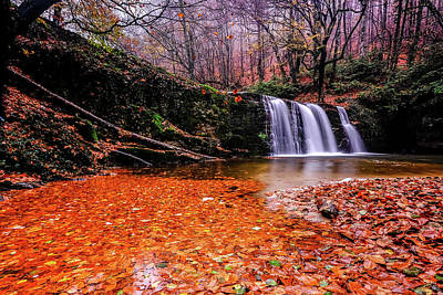 Waterfall-7 Poster by Okan YILMAZ