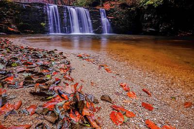 Waterfall-8 Poster by Okan YILMAZ