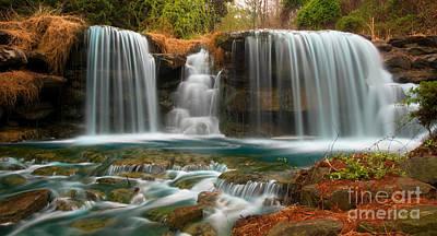 Waterfall Poster by Chris Mason