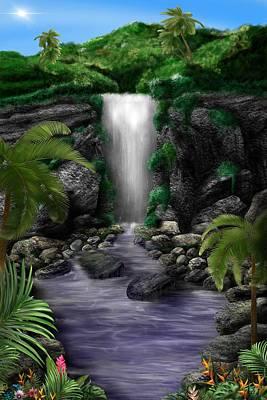 Waterfall Creek Poster