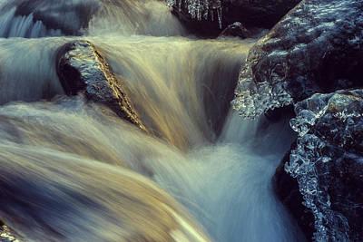 Waterfall Poster by Scott Meyer