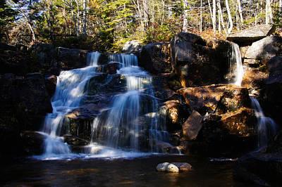 Waterfall, Whitewall Brook Poster