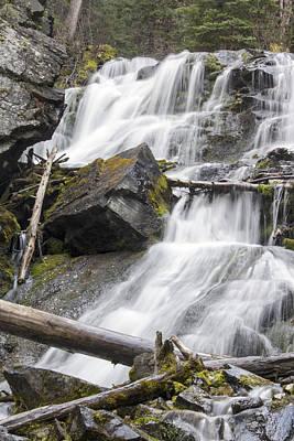 Waterfalls Of Lost Creek Poster