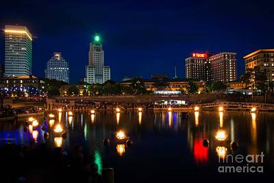 Waterfire, Providence Poster
