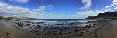 Waterfoot Beach Panorama Poster by SleepyCat Photos