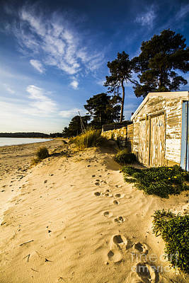 Waterfront Shed Poster by Jorgo Photography - Wall Art Gallery