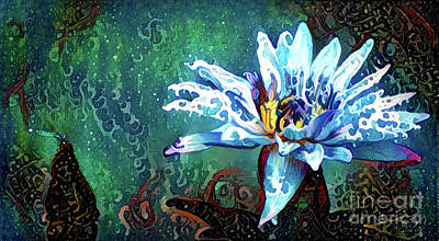 Waterlilies 20 Poster by Amy Cicconi
